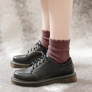 Retro style lolita leather shoes yv43134