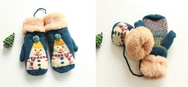 Cutekawaii christmas winter  knitting gloves yv5132