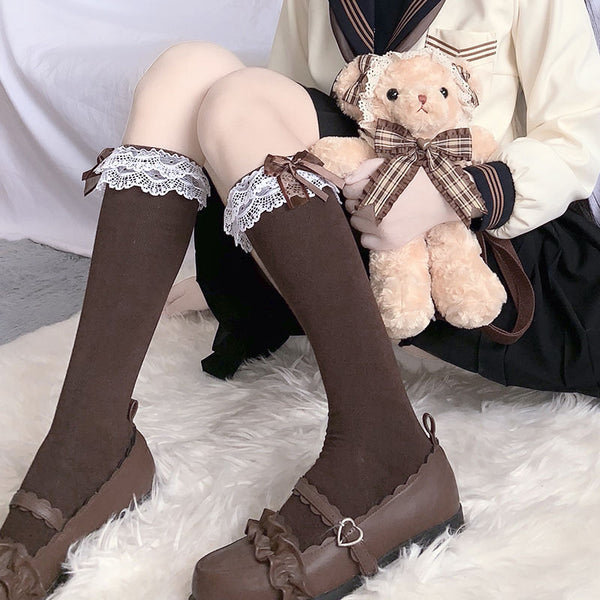 Japanese lolita sweet cute socks yv43261