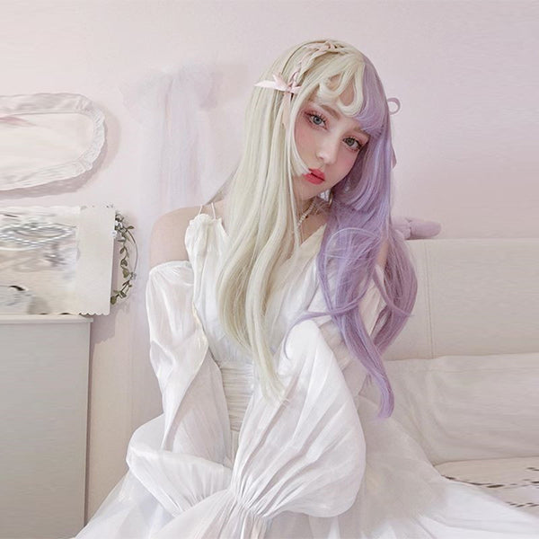 Review for Youvimi  pastel color  lolita wig YV42511