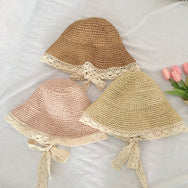 Sweet lace-up sun hat yv43239
