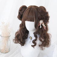 lolita cute curly wig YV42998