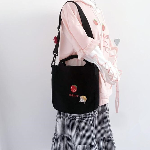 Cute style crossbody handbag yv43165