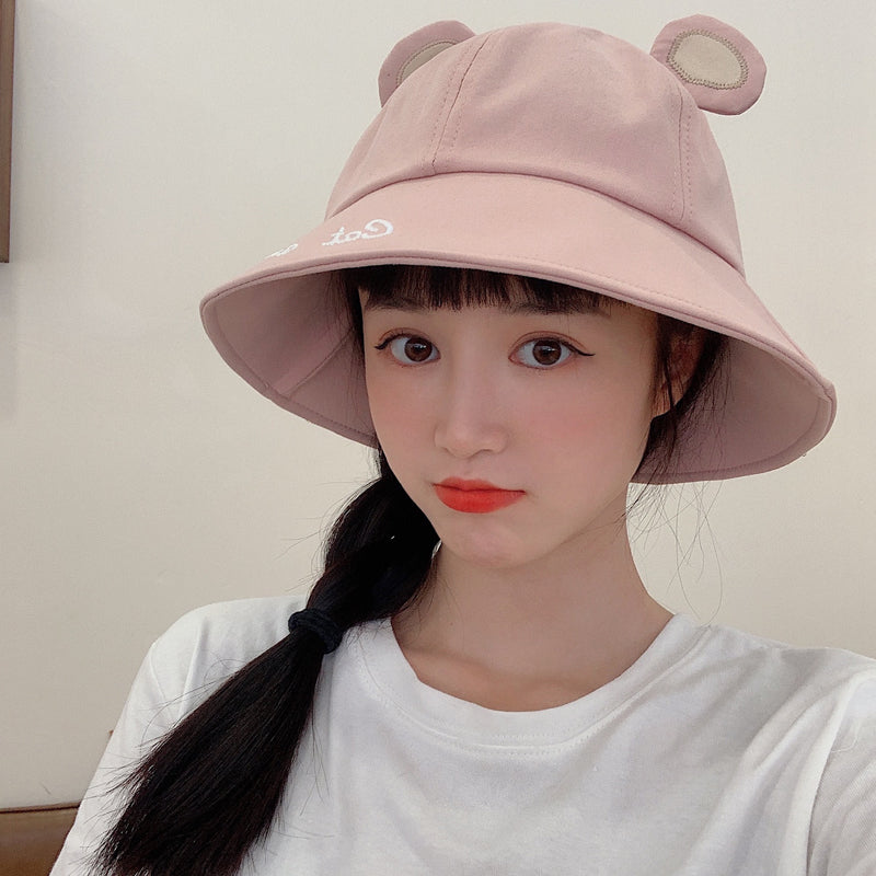Fashion cute ear fisherman hat sunhat yv43240