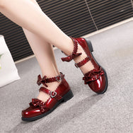 Japanese Lolita uniform shoes yv40639
