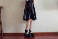 Fashion Harajuku style platform shoes YV90116