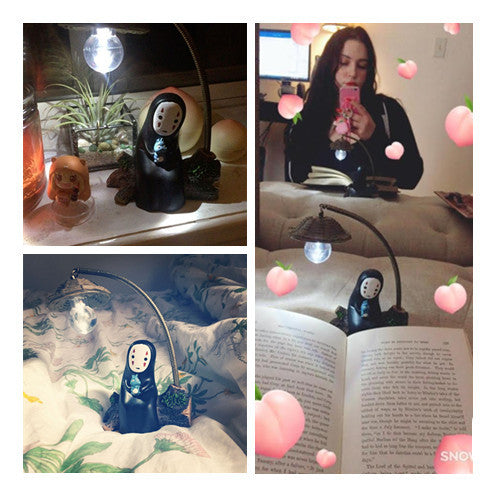 Thank you for review photo from instagram@kaspher(No-Face Male Lamp Lighting YV126)