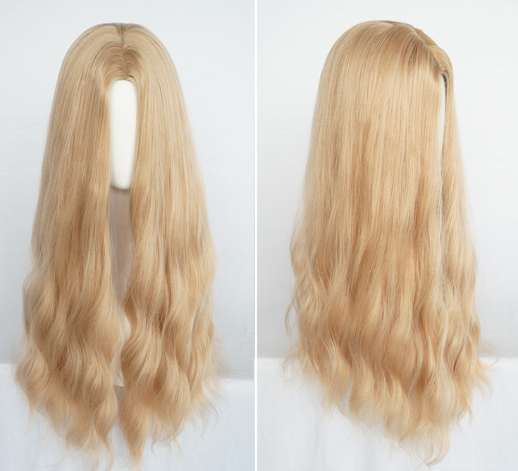 Youvimi golden natural wig YV42695