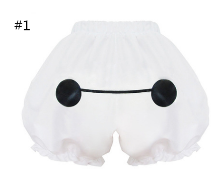 Cute Lolita Bottoming Pumpkin Shorts YV109