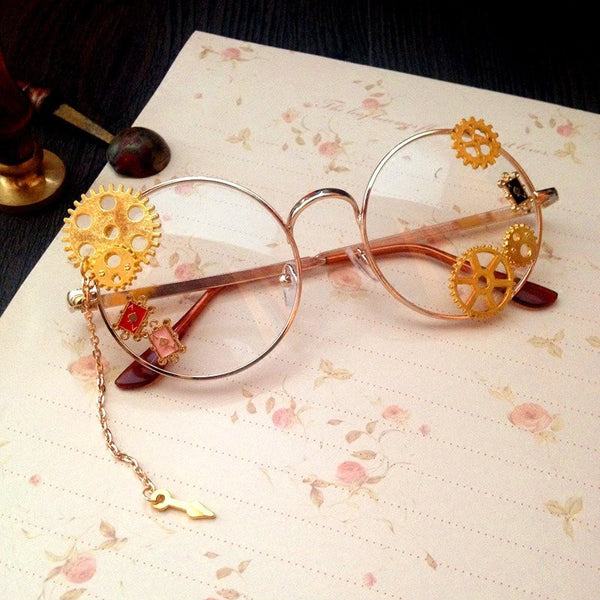 Steam Punk Glasses YV191