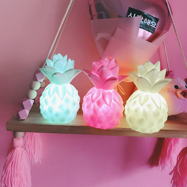 Harajuku cute pineapple light cute little night light gift YV5046
