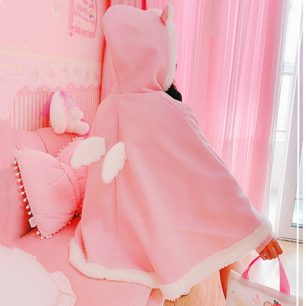 Cute wings pink jacket YV43618