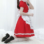 Lolita maid cosplay dress suit YV43625