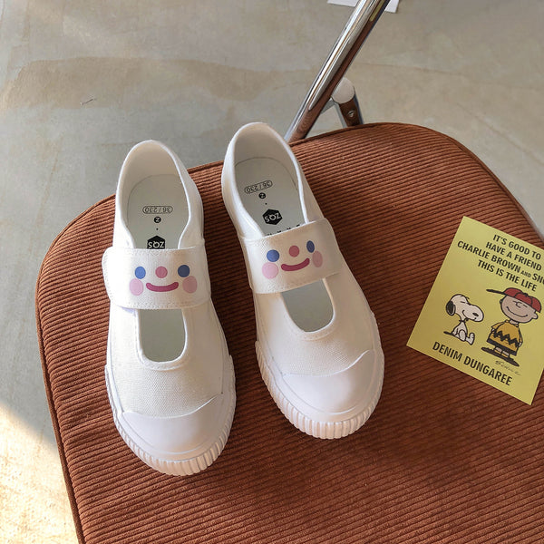 Sweet style cute white shoes yv43167
