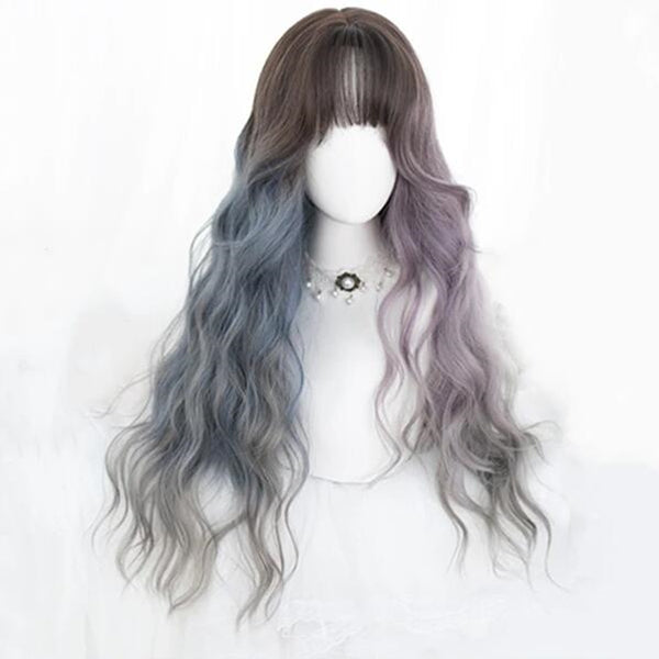 lolita series long curly wig yv43174