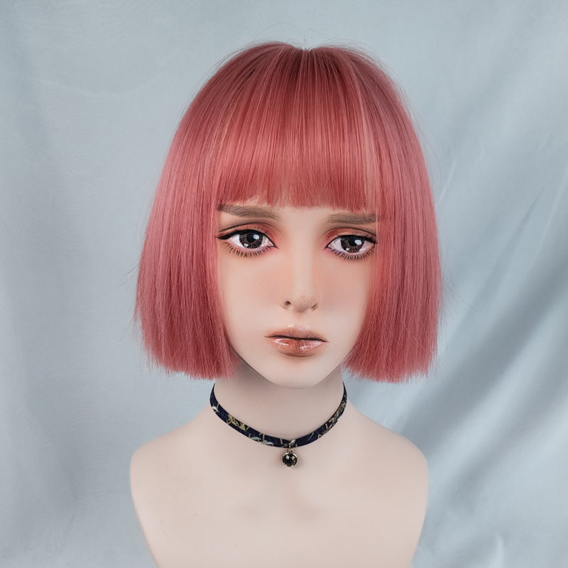 Handsome short straight wig yv43185
