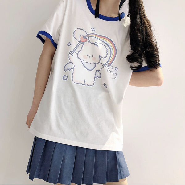 Summer series cute T-shirt yv43145