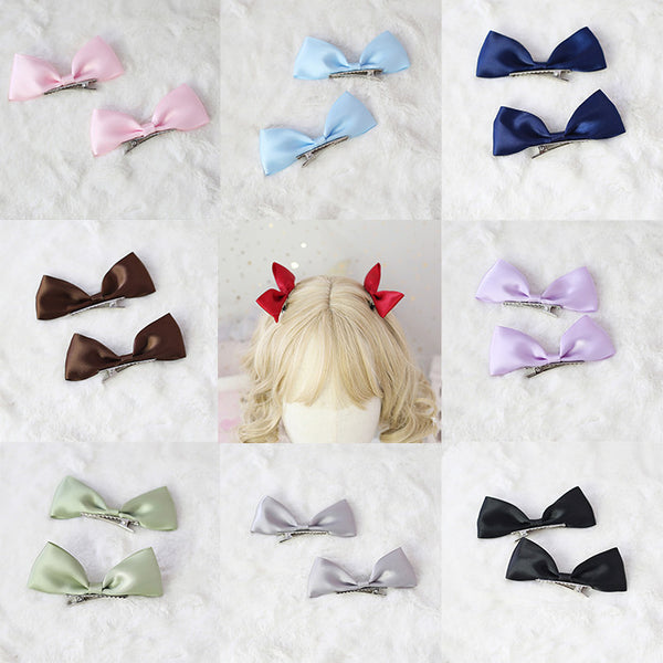 Sweet cute bowknot hairclip YV43033