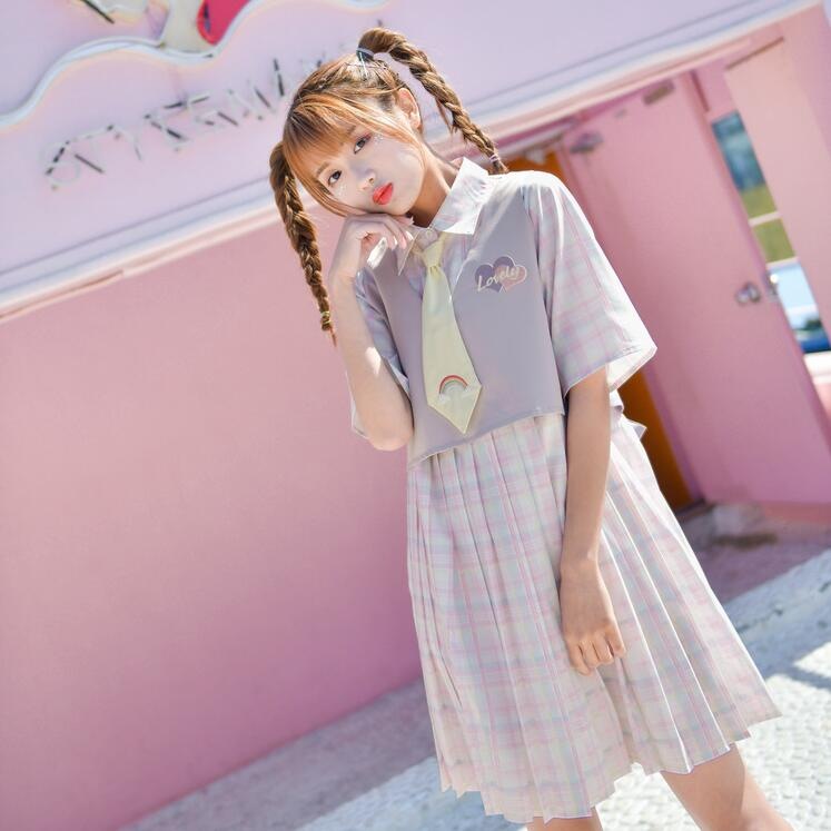 Light color series cute dress YV43038