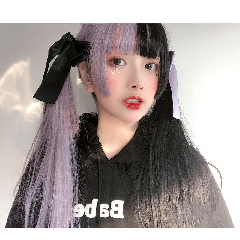 Harajuku long straight wig YV42999