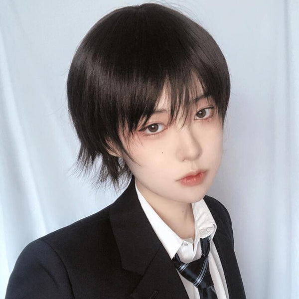 Japanese style handsome short wig yv43395