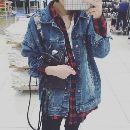 Fashion jean jacket  YV3012