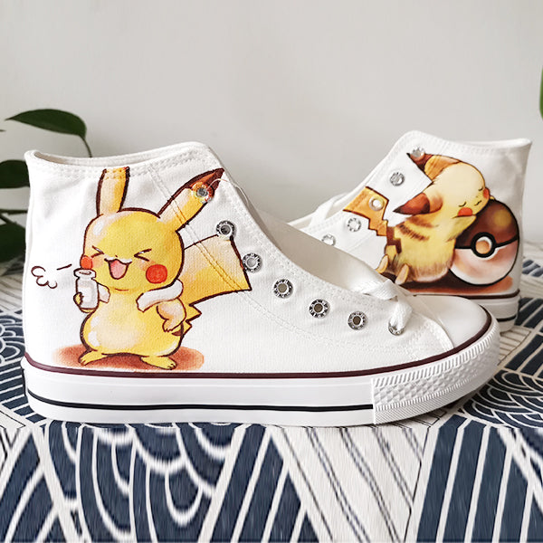 Pikachu hand-painted shoes YV42666