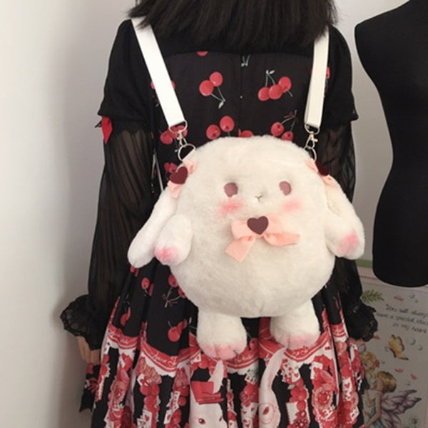 lolita cute plush backpack yv43191