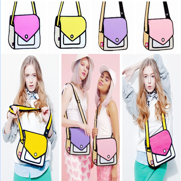 3D   Cartoon Handbag Shoulder Bag YV5121