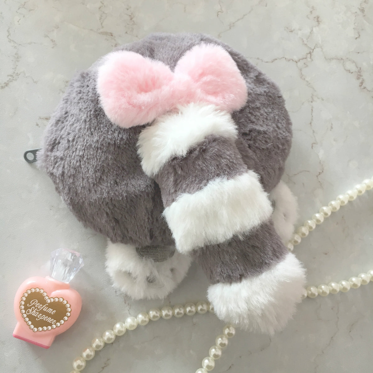 Cute cat egg raccoon ass bag YV40151