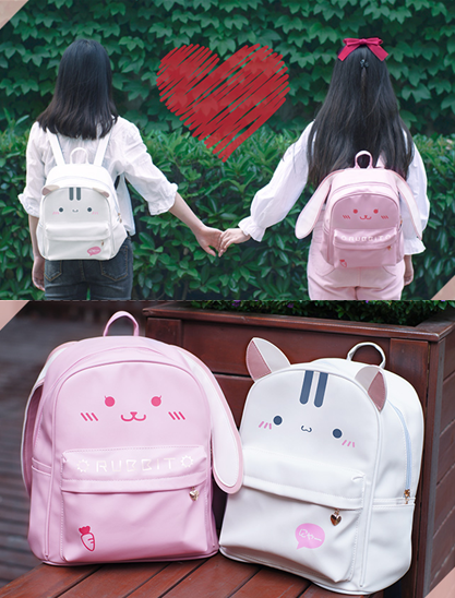 Cute cartoon cat/bunny backpack  YV1304