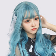 Japanese style fashion curly wig yv43114