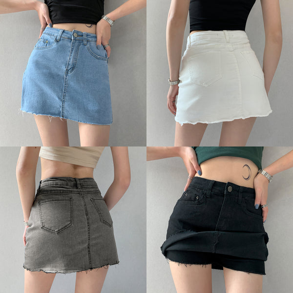 Summer fashion denim skirt YV43029