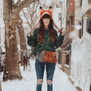 Review For Handmade Wet Felt Fox Hat YV20122