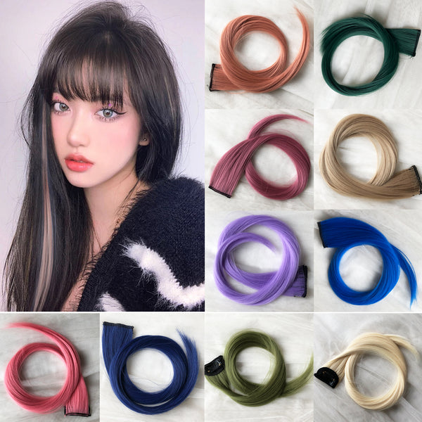 Fashion color one piece wig yv43198
