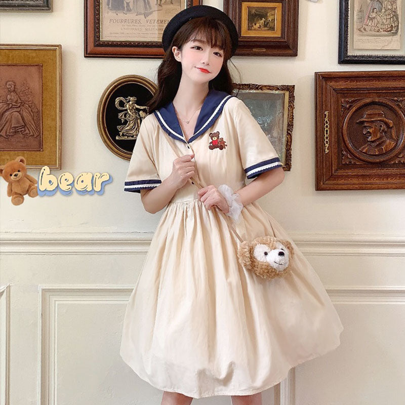 Japanese fashion sweet dress yv43324