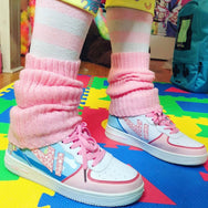 Japanese Harajuku color matching shoes yv42060