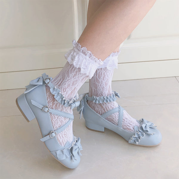 lolita fashion lace socks yv43083