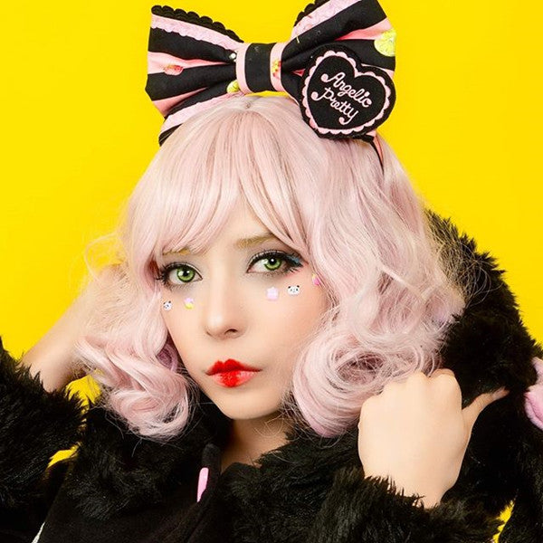 Review for Roman Roll Lolita Wig Yv42433