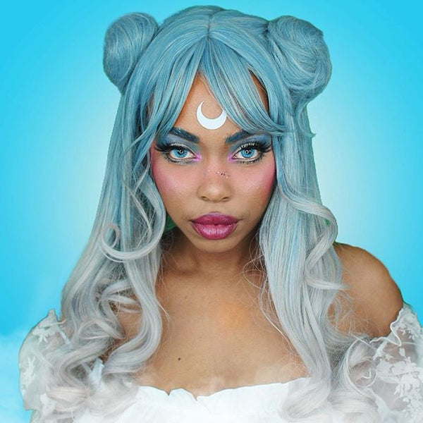 Review for Lolita wig +Hair accessories YV40965