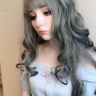 Review for Cute big wave long roll wig YV40380
