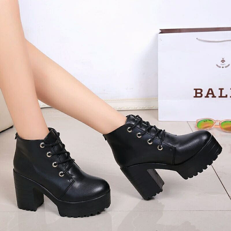 Student fashion Martin boots YV535