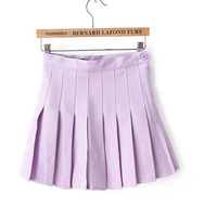 Lavender Pleated Tennis/School Skirt YV5025