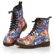 Floral Martin boots YV2028