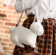 Cute rabbit fruit shoulder bag yv40658