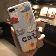 Cute kawaii cat iphone case YV17032
