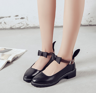 buuny ear flat shoes  YV5029