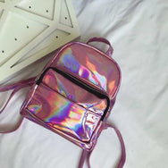 Holographic casual backpack YV563