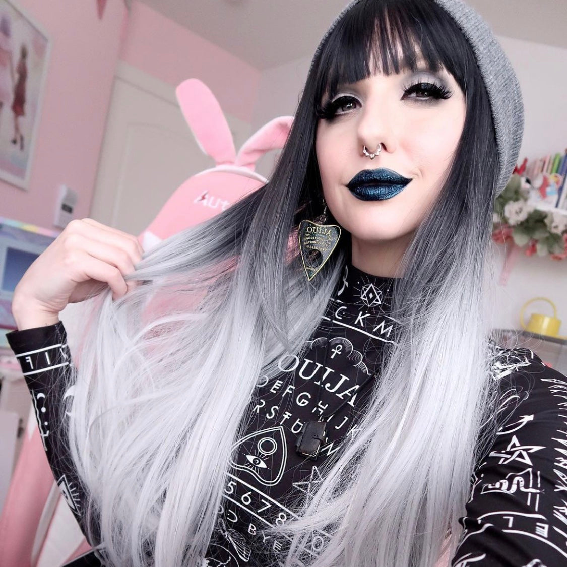 REVIEW FOR HARAJUKU NATURAL BLACK GRADIENT WIG YV43427