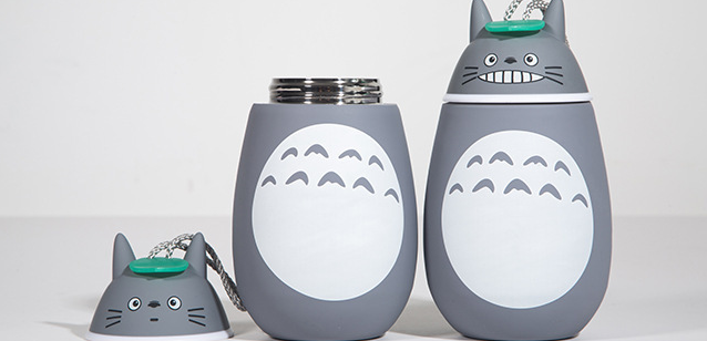 Kawaii Totoro Vacuum Cup Glass Cup  YV1168